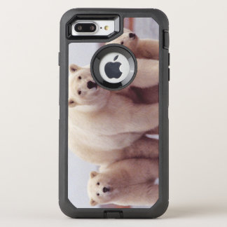Polar Bear Family OtterBox Defender iPhone 7 Plus Case