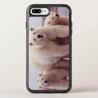 Polar Bear Family OtterBox Symmetry iPhone 8 Plus/7 Plus Case