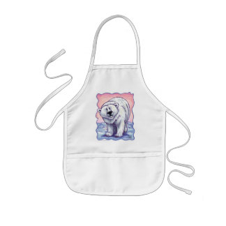 Polar Bear Gifts & Accessories Kids Apron