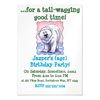 Polar Bear Gifts & Accessories Magnetic Invitations