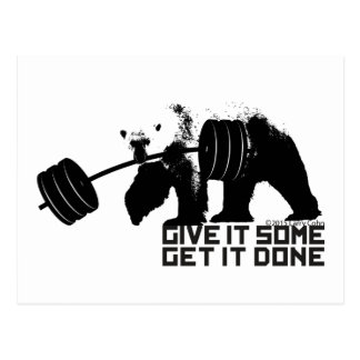 Polar Bear - Give It Some Postcard