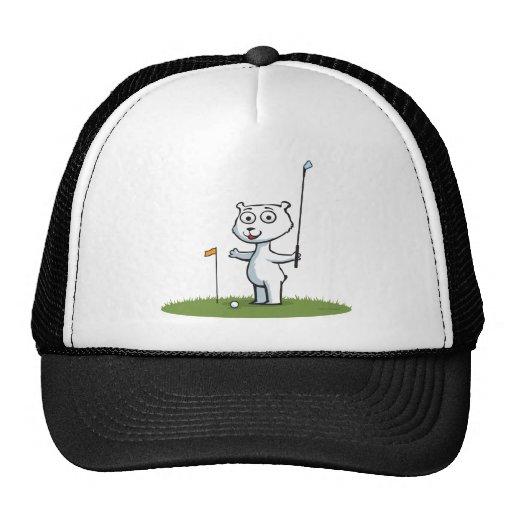 Polar Bear Golf Hats