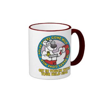 Polar Bear Gone Wild Mug