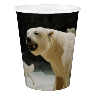 Polar Bear Grin Paper Cup