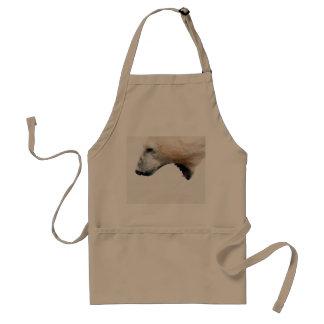 Polar bear growl standard apron