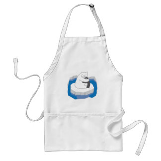 Polar Bear Hug Standard Apron