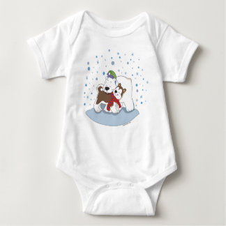 Polar Bear & Husky Friends Infant Tee