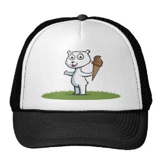 Polar Bear Ice Cream Hat