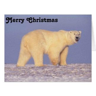 Polar Bear in Arctic Alaska Big Greeting Card