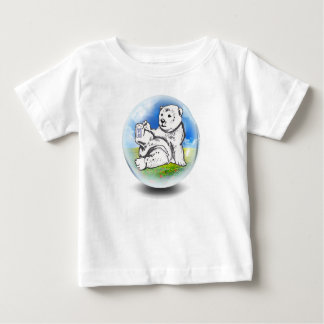 polar Bear in bubble Baby T-Shirt