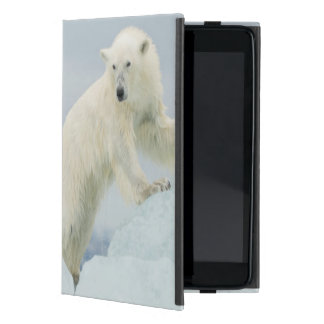 Polar bear in summer iPad mini case