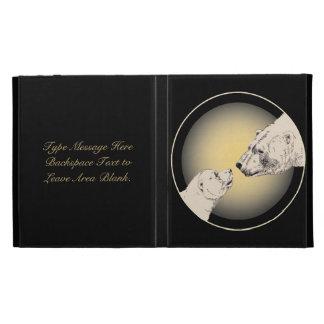 Polar Bear iPad Case Custom Bear Art iPad Cases