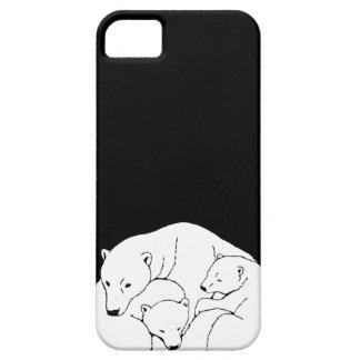 Polar Bear IPhone 5 Case 3 Bears Iphone Case