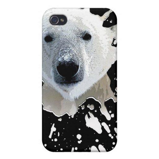 polar bear iPhone 4/4S cover