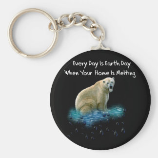 Polar Bear Key Ring