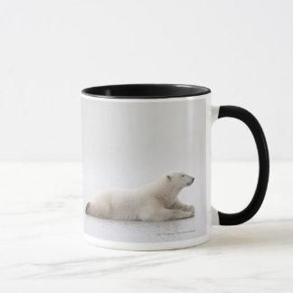 Polar Bear Laying On A Lake Of Ice Mug