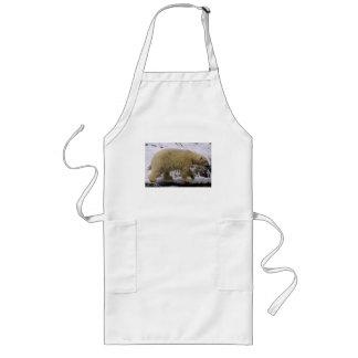Polar Bear Long Apron