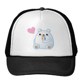 Polar Bear Love Cap