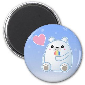 Polar Bear Love Refrigerator Magnet