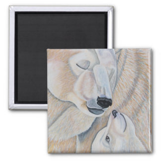 Polar Bear Love Magnet