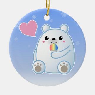 Polar Bear Love Ornaments