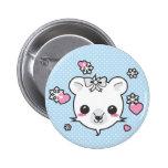 Polar Bear Love Pin