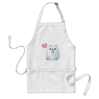 Polar Bear Love Standard Apron