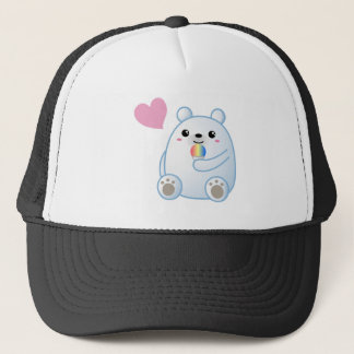 Polar Bear Love Trucker Hat