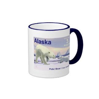 Polar Bear - Mama Nose Best Ringer Coffee Mug