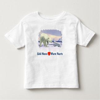 Polar Bear - Mama Nose Best Toddler T-Shirt