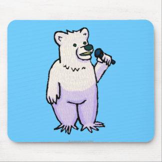 Polar Bear Mike Mouse Pads