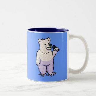 Polar Bear Mike Two-Tone Mug