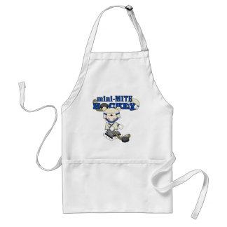 Polar Bear Mini Mite Hockey Tshirts and Gifts Adult Apron