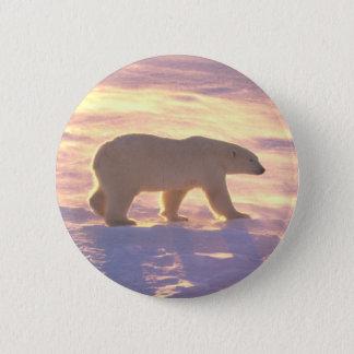 Polar Bear Morn 3 6 Cm Round Badge