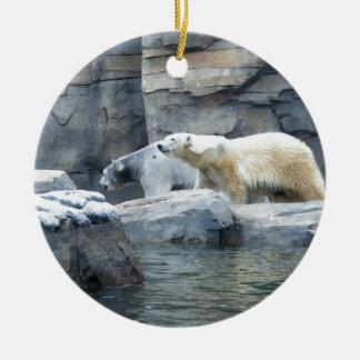 Polar Bear: Nakita and Berlin Christmas Ornament