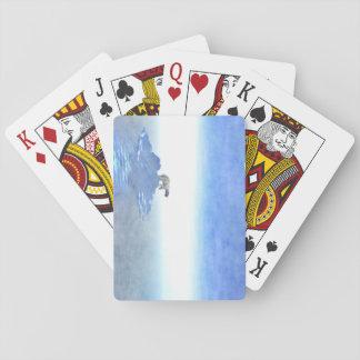 Polar Bear On Iceberg Poker Deck