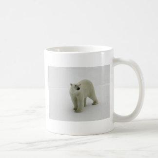 Polar Bear on the Arctic ice Coffee Mug
