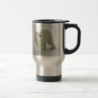 Polar Bear on the Arctic ice Mugs