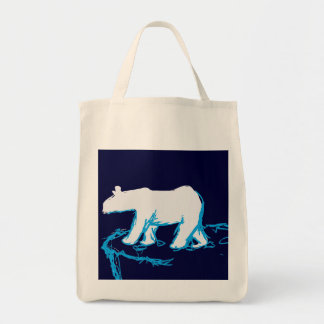 Polar Bear Organic Tote bag