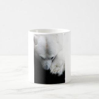Polar Bear Ours Polaire Basic White Mug