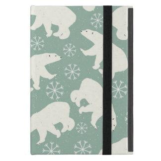 Polar Bear pattern Cases For iPad Mini