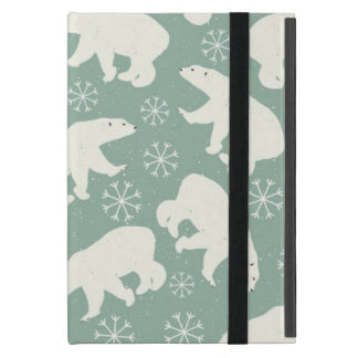 Polar Bear pattern Cover For iPad Mini