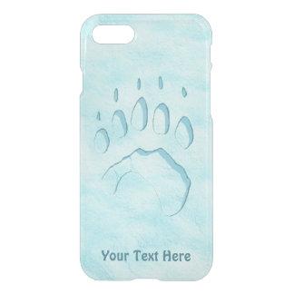 Polar Bear Paw Print iPhone 8/7 Case