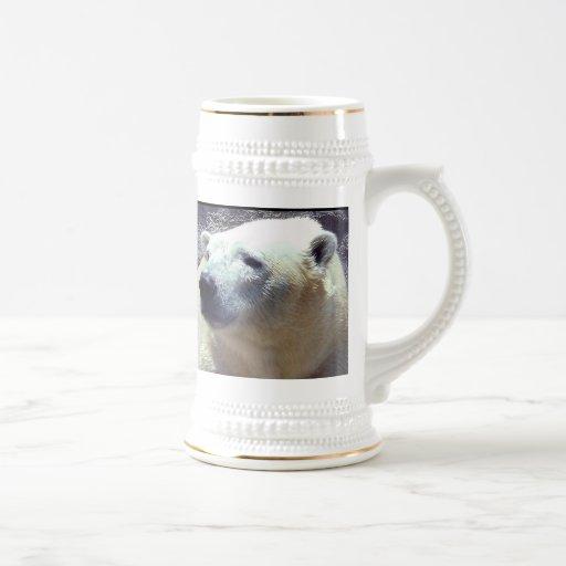 Polar Bear Photo Closeup Nikita Kansas City Zoo Mug