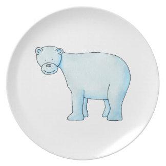 Polar Bear. Plate