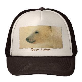 Polar Bear Portrait Hat
