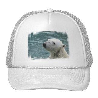 Polar Bear Profile Baseball Hat