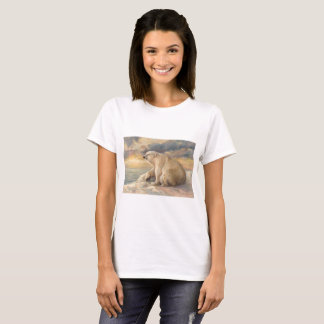 Polar Bear Rests On The Ice - Arctic Alaska T-Shirt