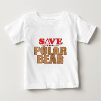 Polar Bear Save Baby T-Shirt