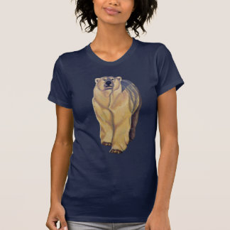 Polar Bear Shirts Polar Bear Art Lady's Shirts